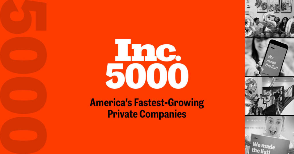Inc 5000 Fasted Growing Private Companies in America